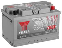 Yuasa 12v Silver Battery HSB010