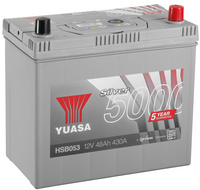 Yuasa 12v Silver Battery HSB053