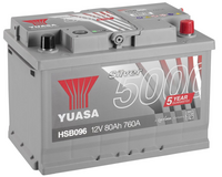 Yuasa 12v Silver Battery HSB096