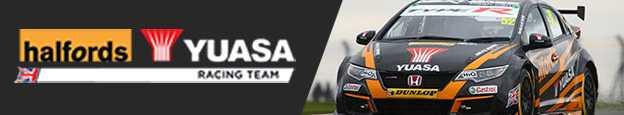 yuasa racing team halfords