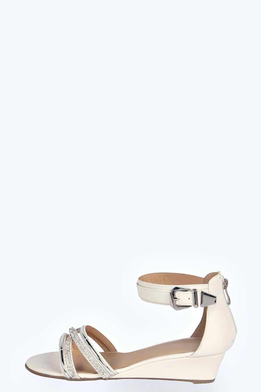 multi wedge sandal at boohoo