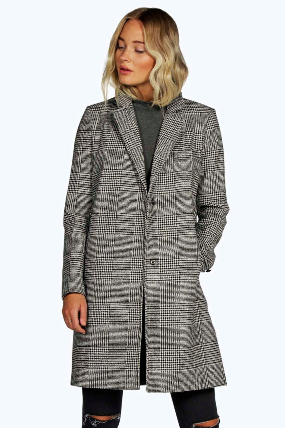 Lara Prince Of Wales Check Coat