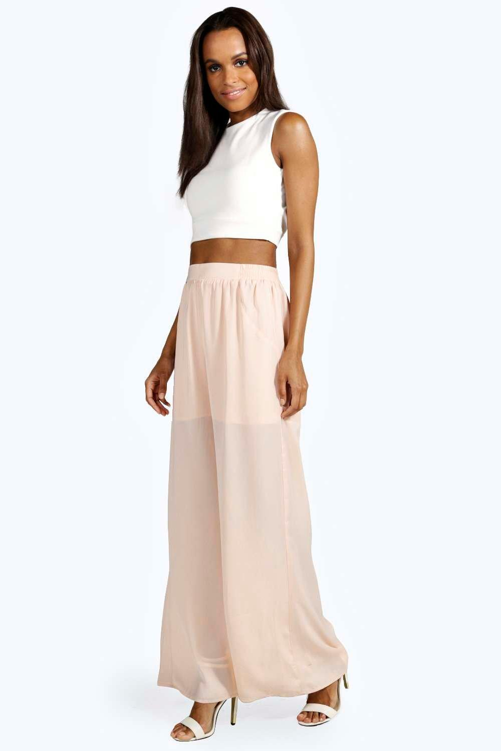Rosalie Super Soft Wide Leg Floaty Trousers
