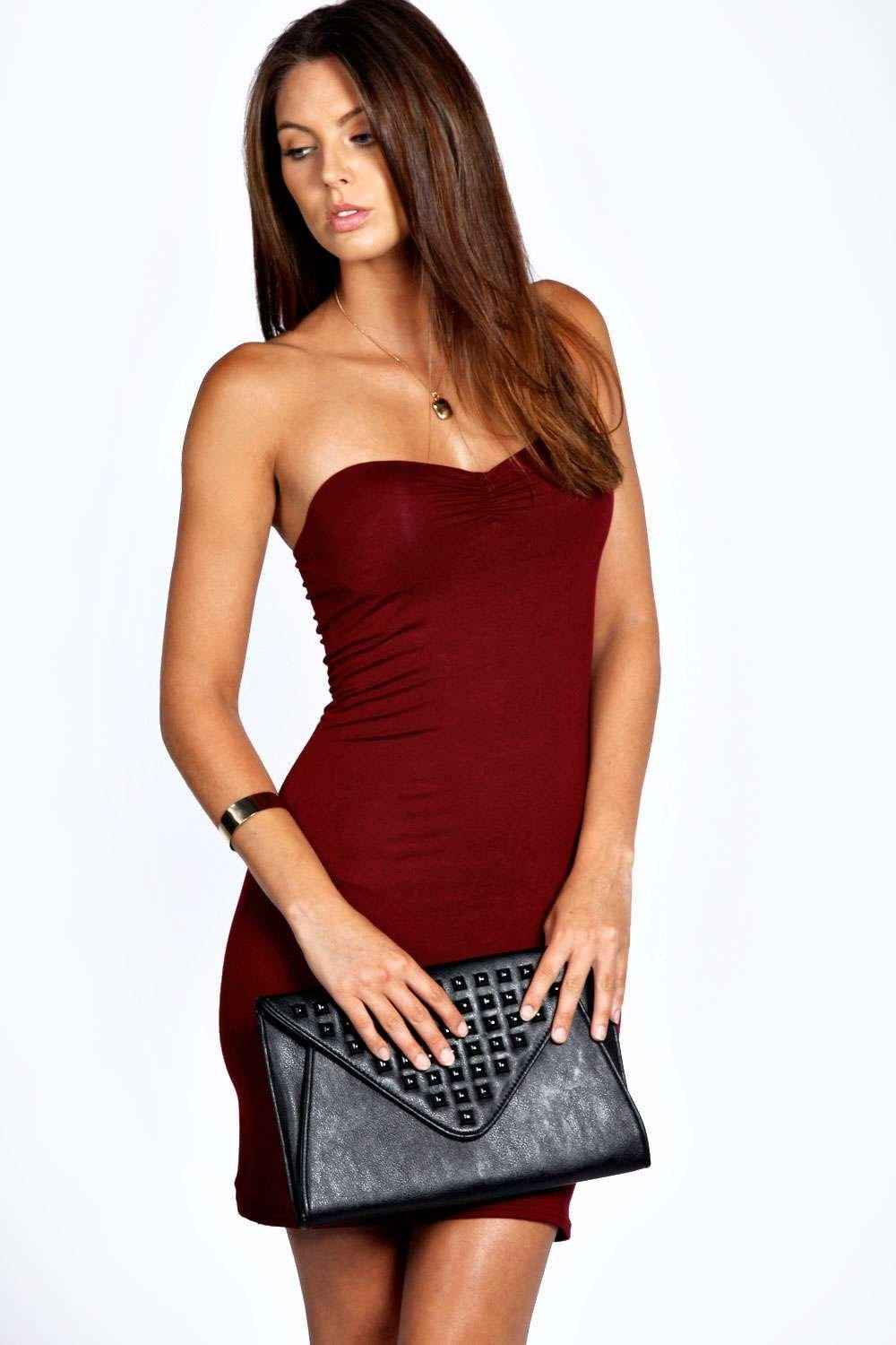 Mel Bandeau Bodycon Dress