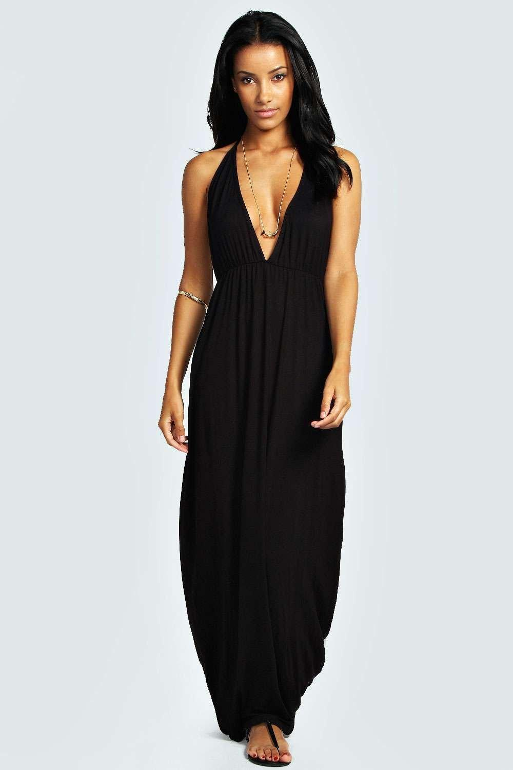 Ivy Strappy Back Maxi Dress