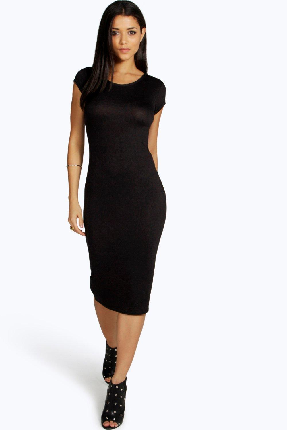 Midi Dress | Mid Length & Pencil Dresses at boohoo.com
