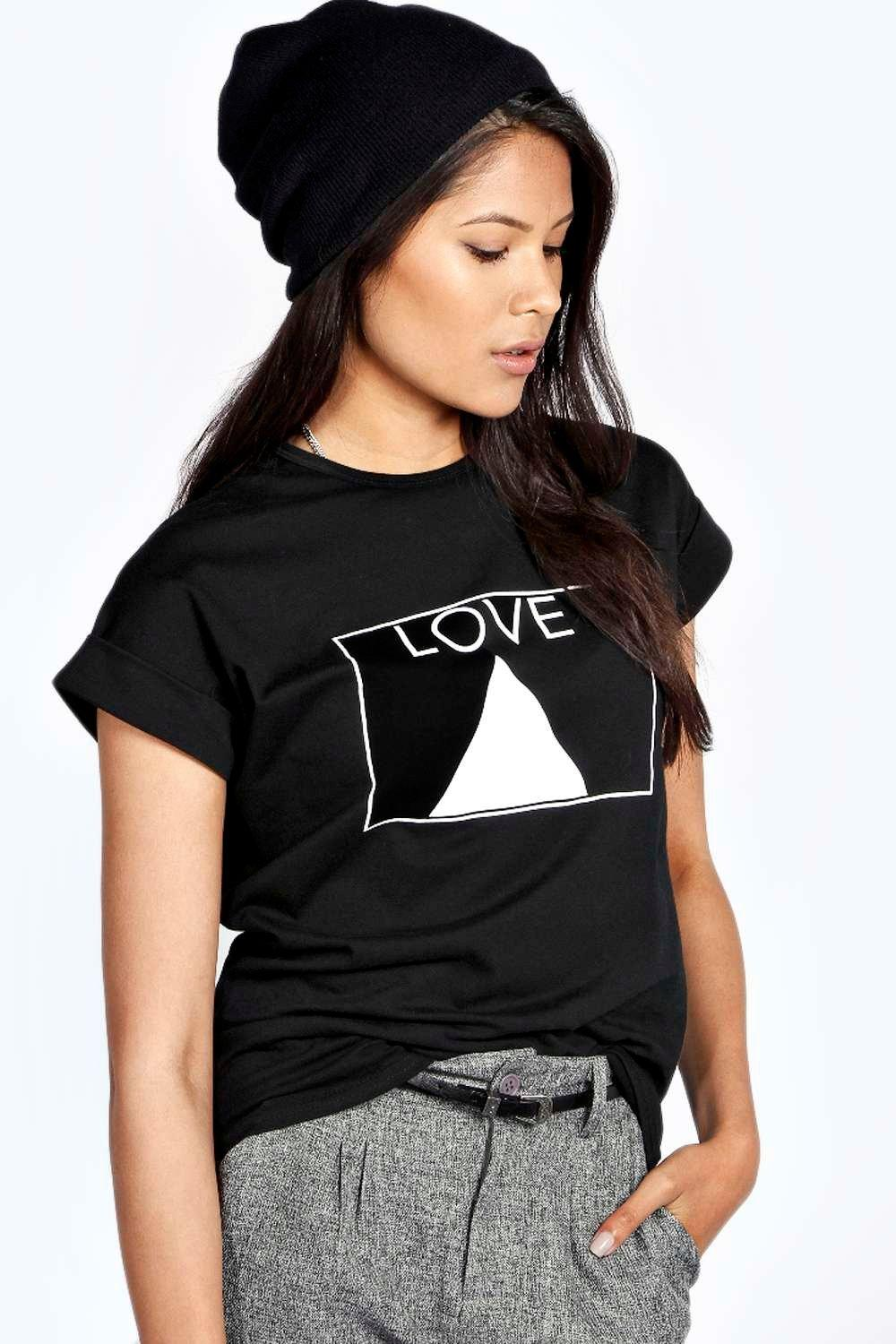 Sydney Love Triangle Slogan Tee