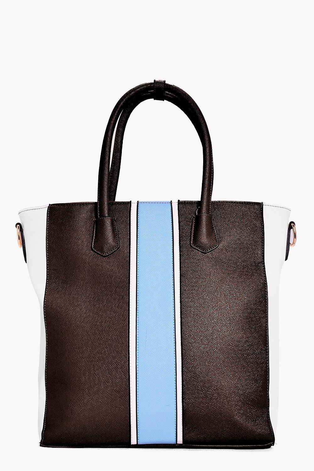 Mya Colourblock Stripe Day Bag