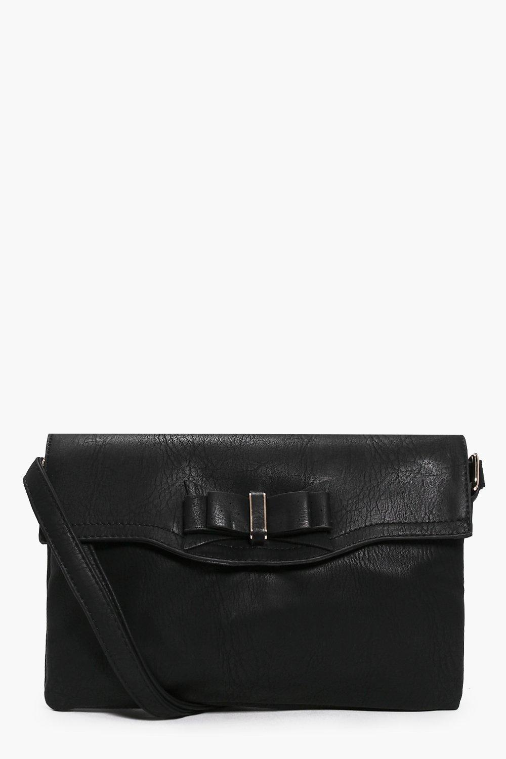 Evie Bow Detail Oversized Body Bag