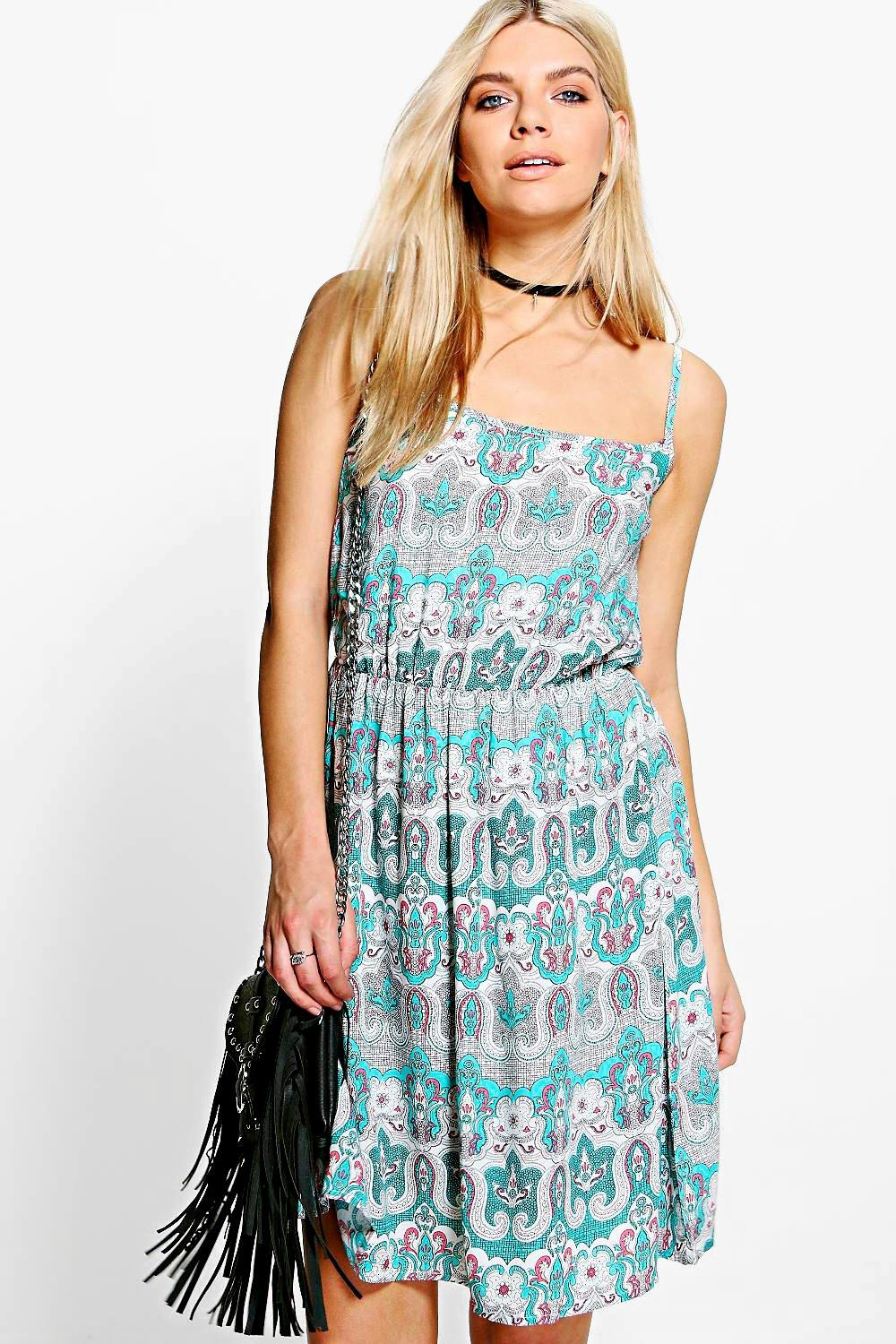 Ella Printed Dress