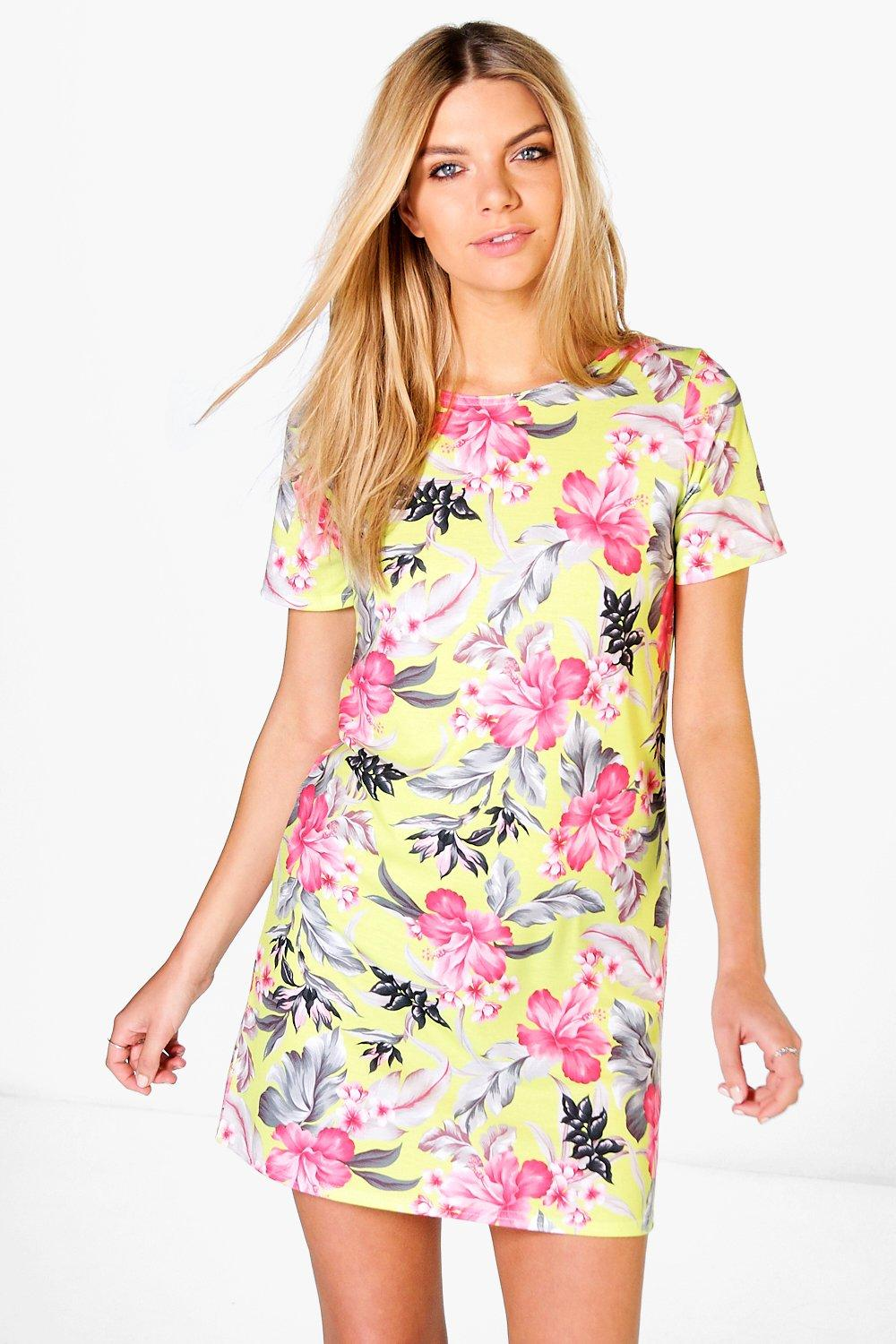 Edie Printed Shift Dress