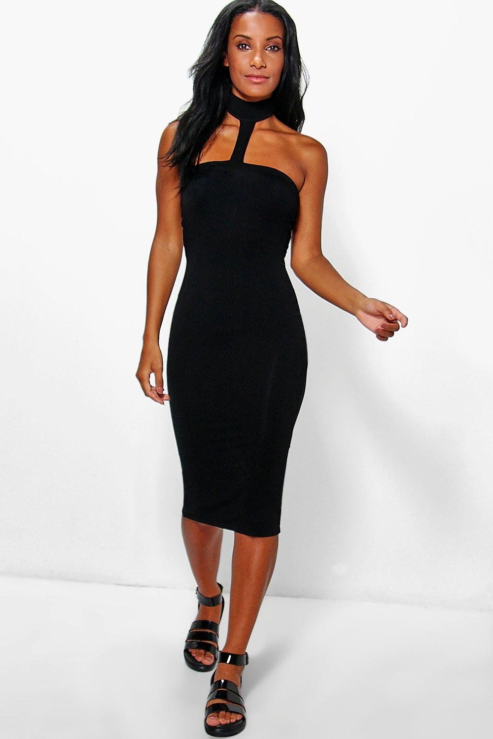 Leah Choker Bodycon Dress