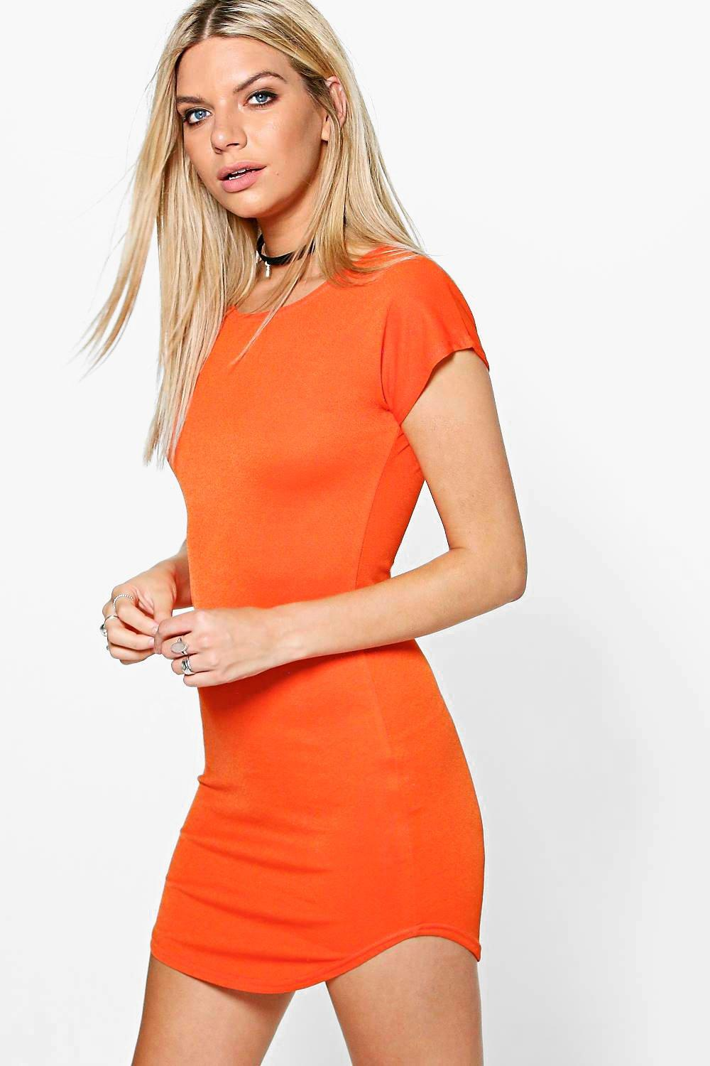 Kila Curved Hem Dress