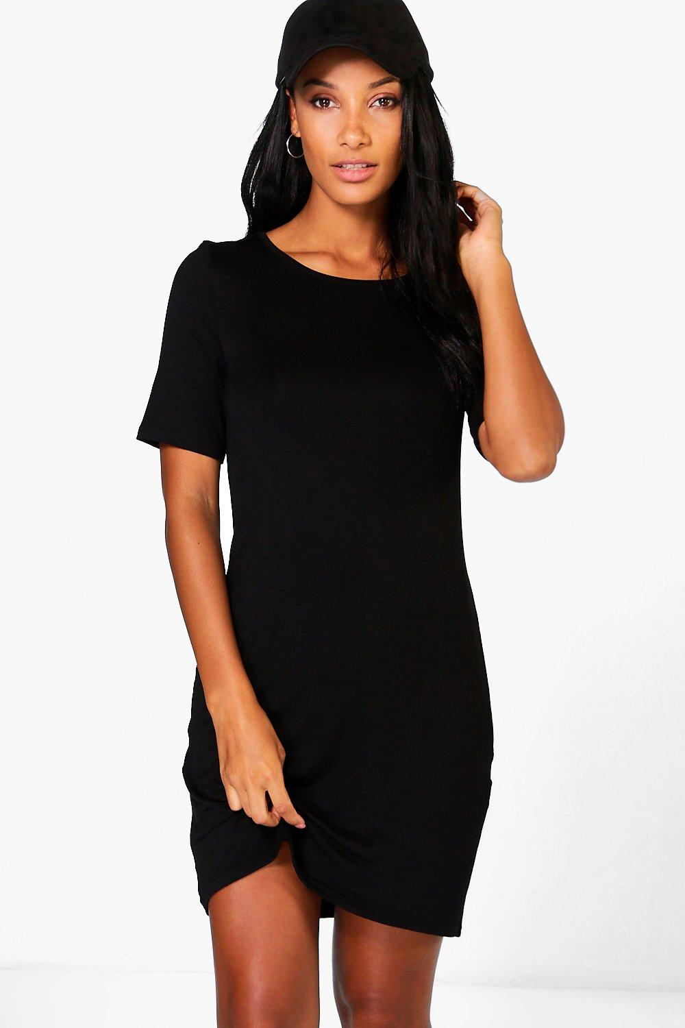 Isla Curve Hem Mini Dress