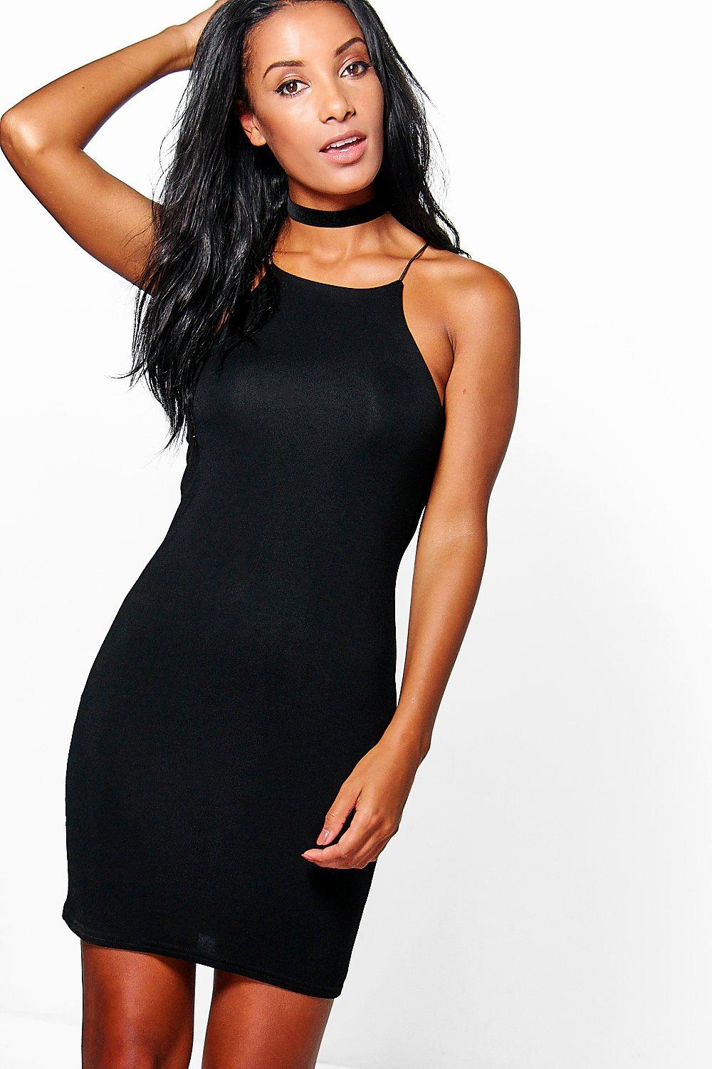 Olivia Strappy Bodycon Dress