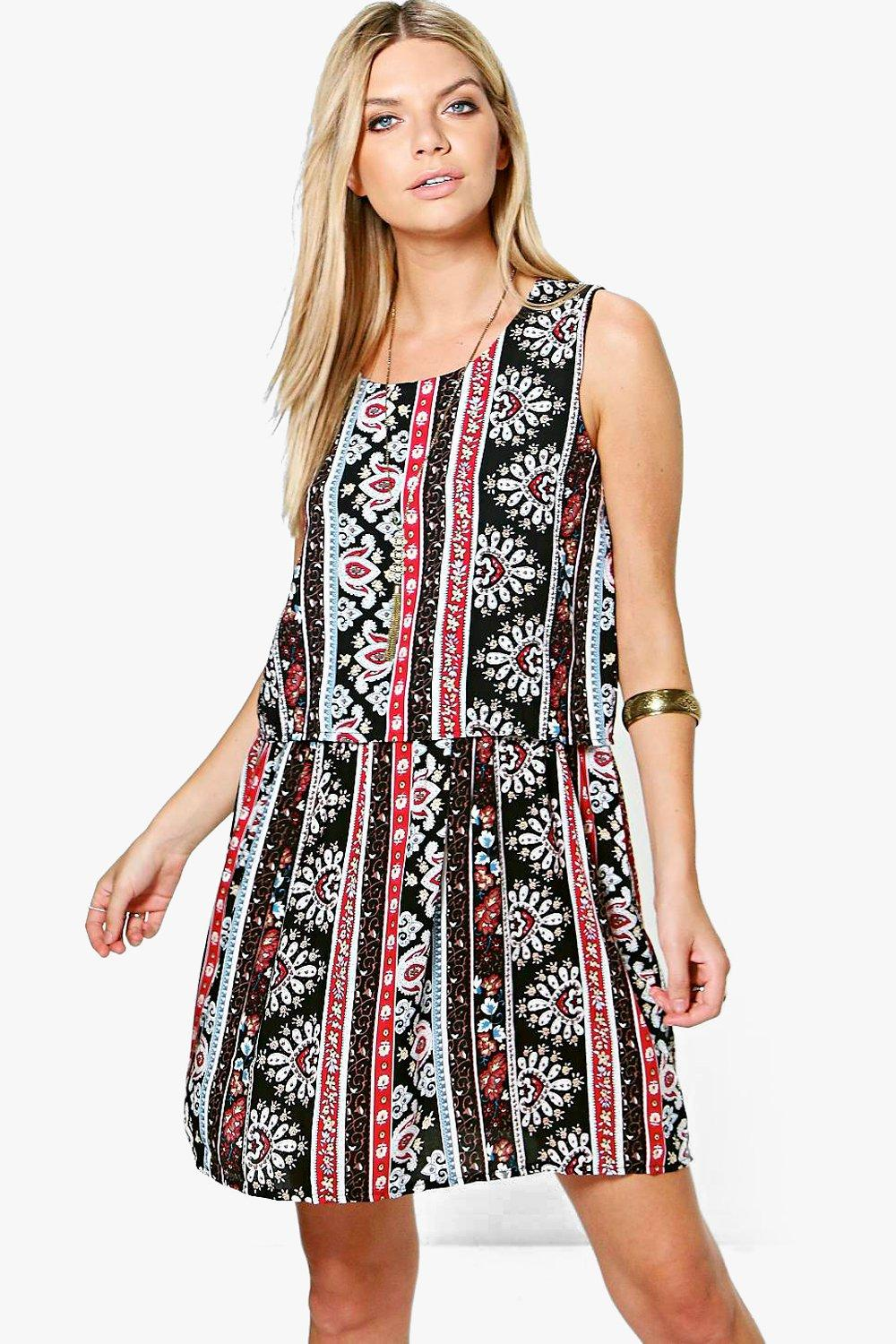 Scarlett Tassel Trim Beach Dress