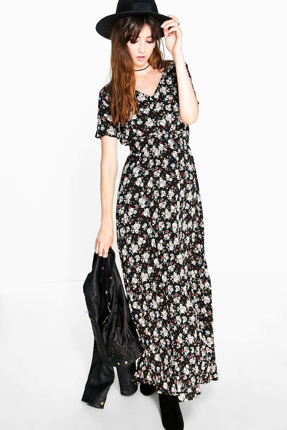 Emily Printed Maxi Dress