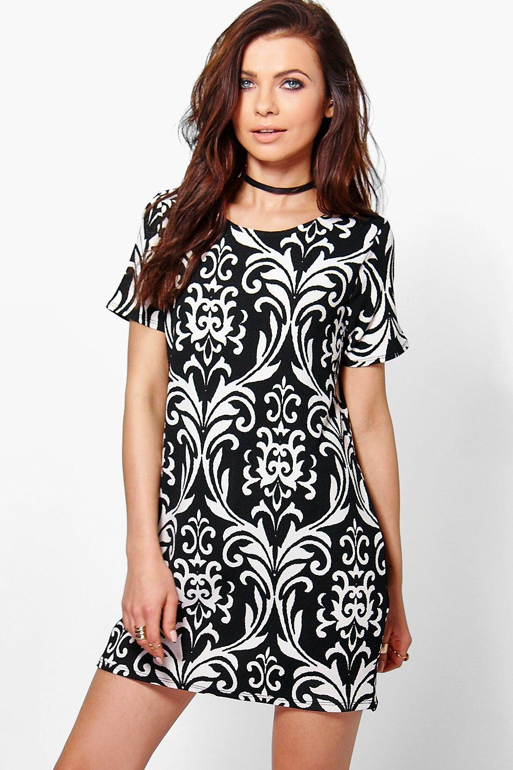 Petite Lois Printed Shift Dress