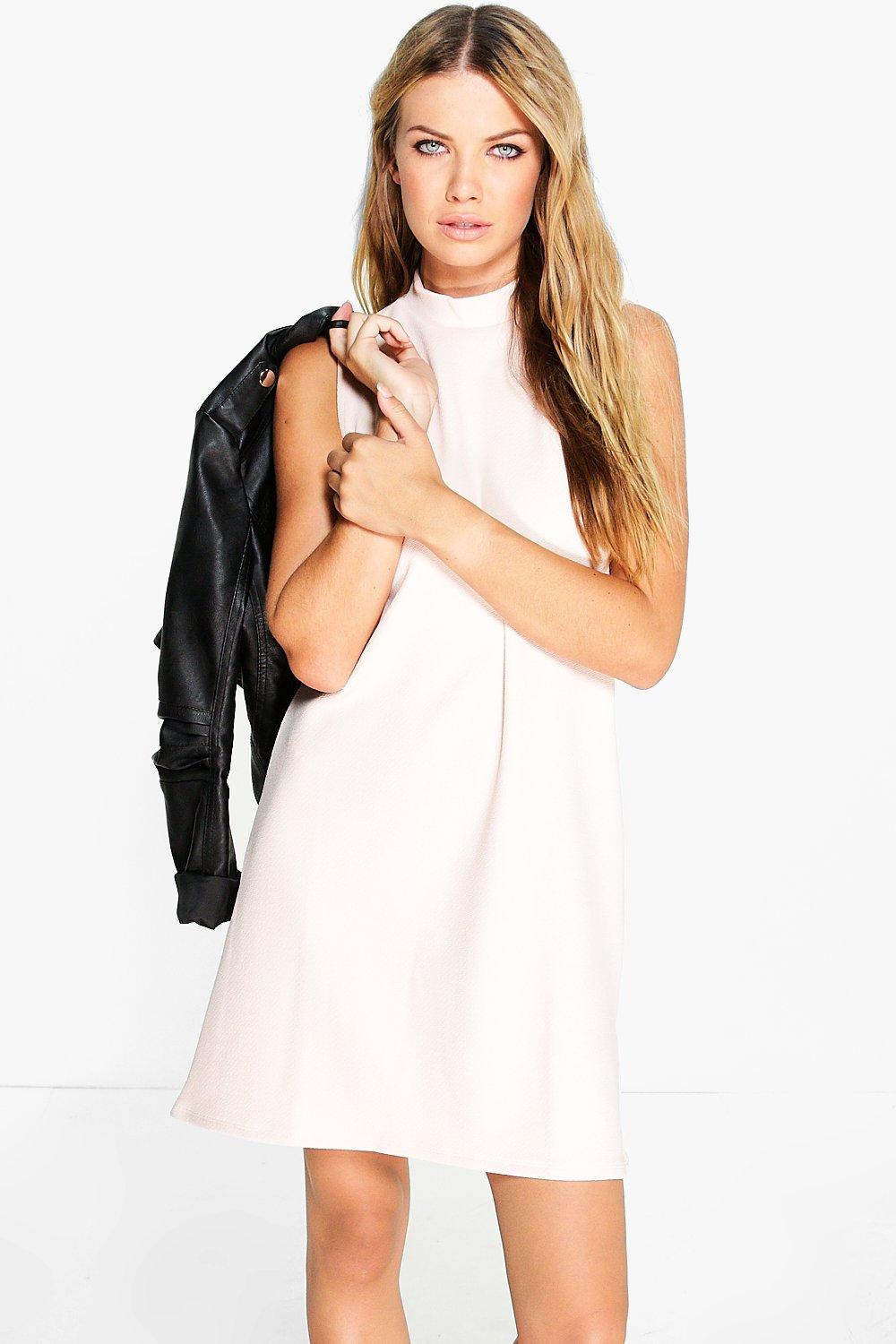 Grace Turtleneck Shift Dress