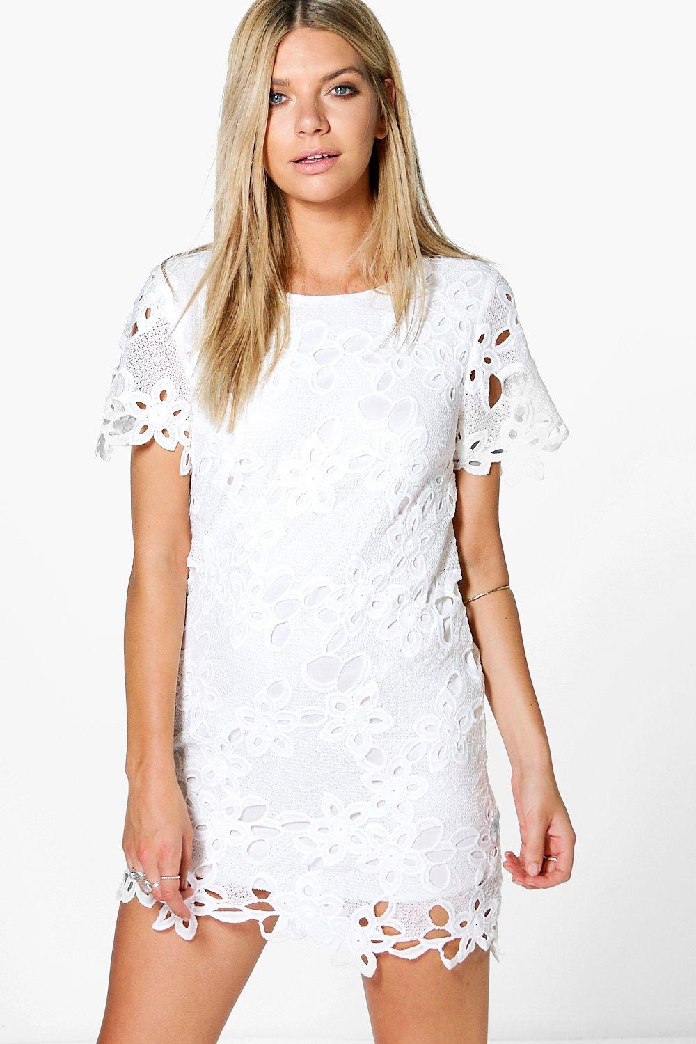 Erin White Lace Dress