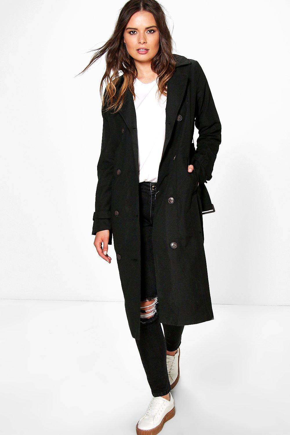 Molly Belted Maxi Trench