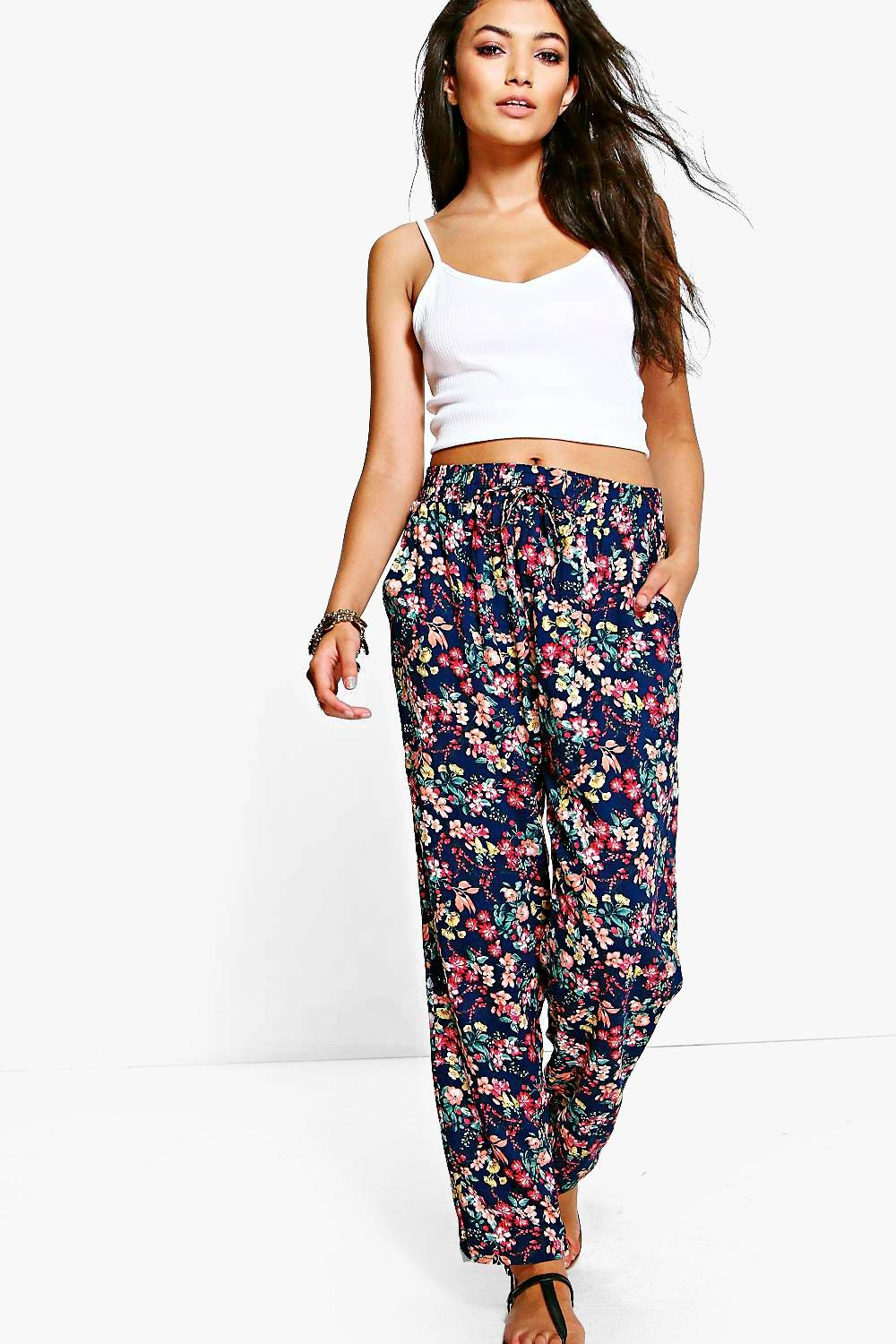 Imogen Floral Printed Trouser