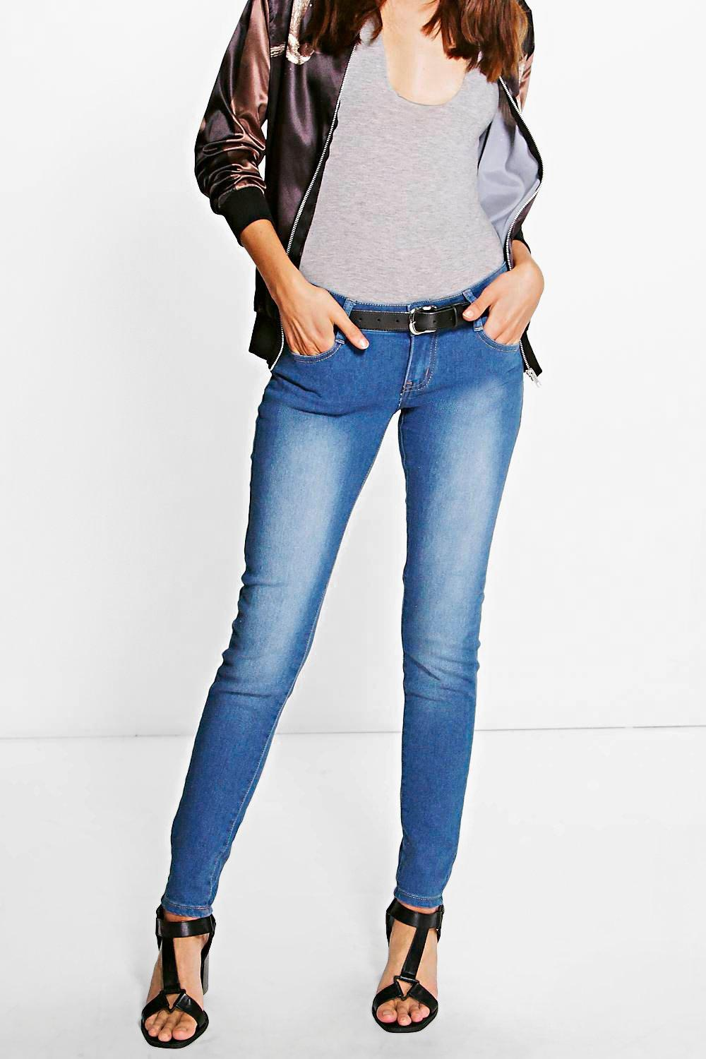 Nicole Light Blue Stretch Denim Jean