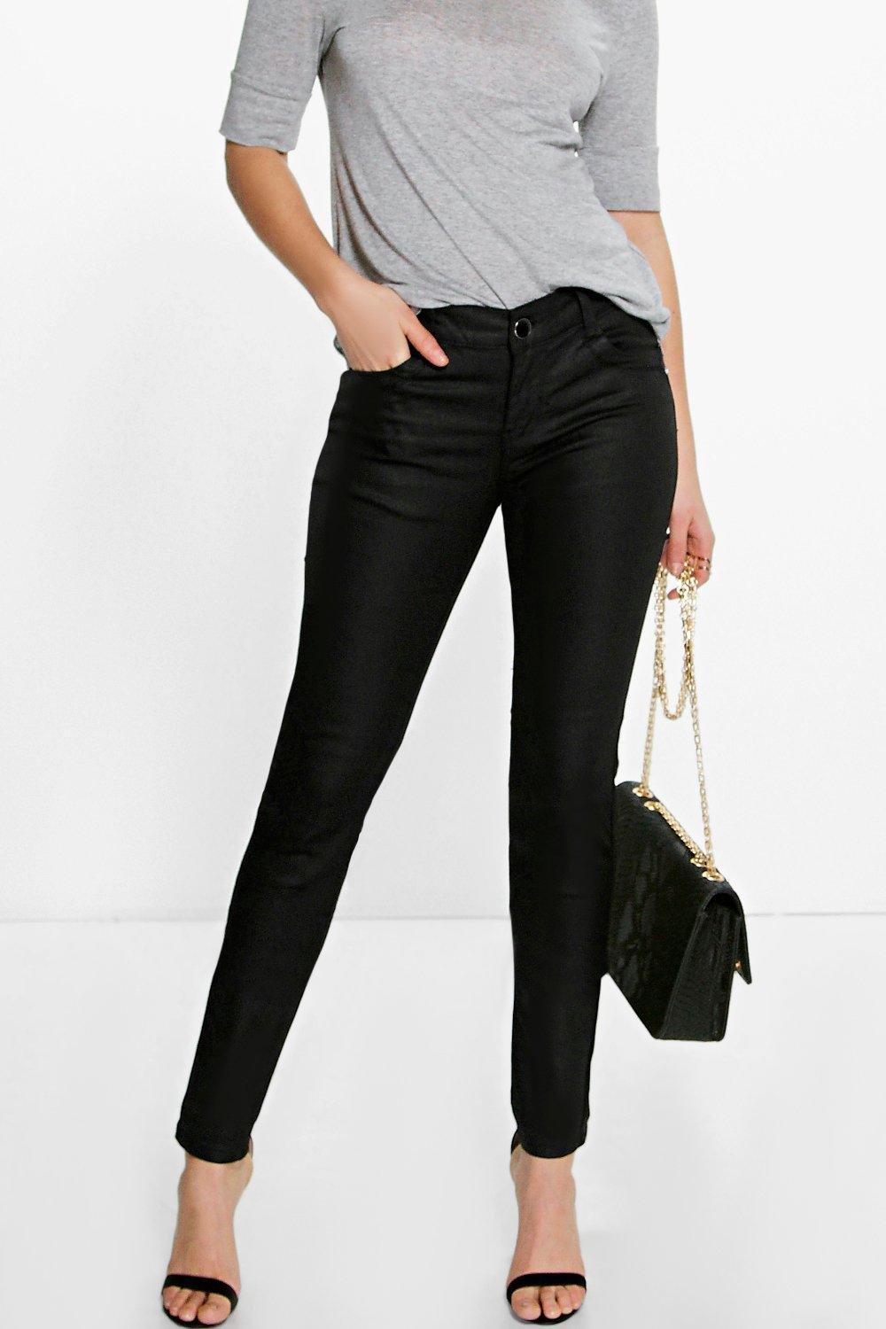 Lois Coated Skinny Jeans