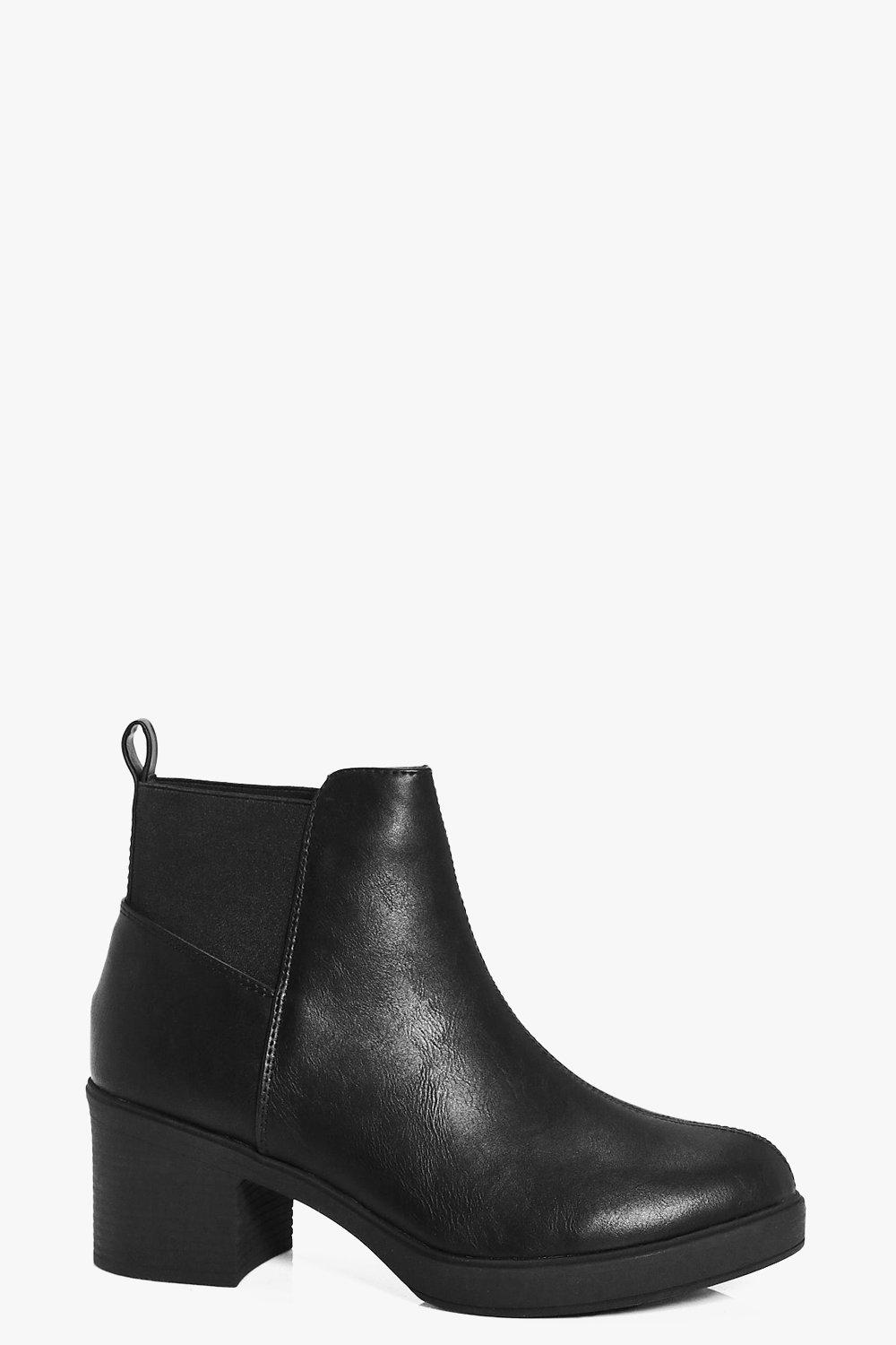 Katie Chunky Chelsea Boot