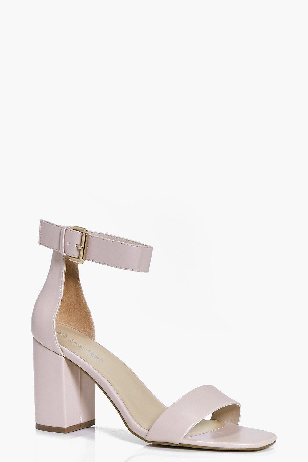 Frances Two Part Block Heels