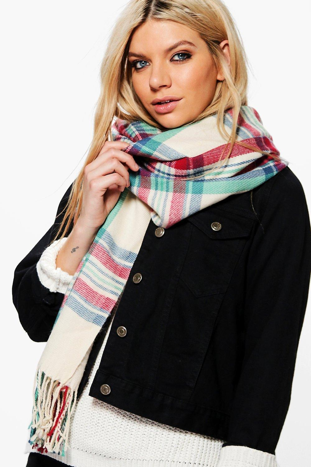 Carmen Supersoft Tartan Scarf