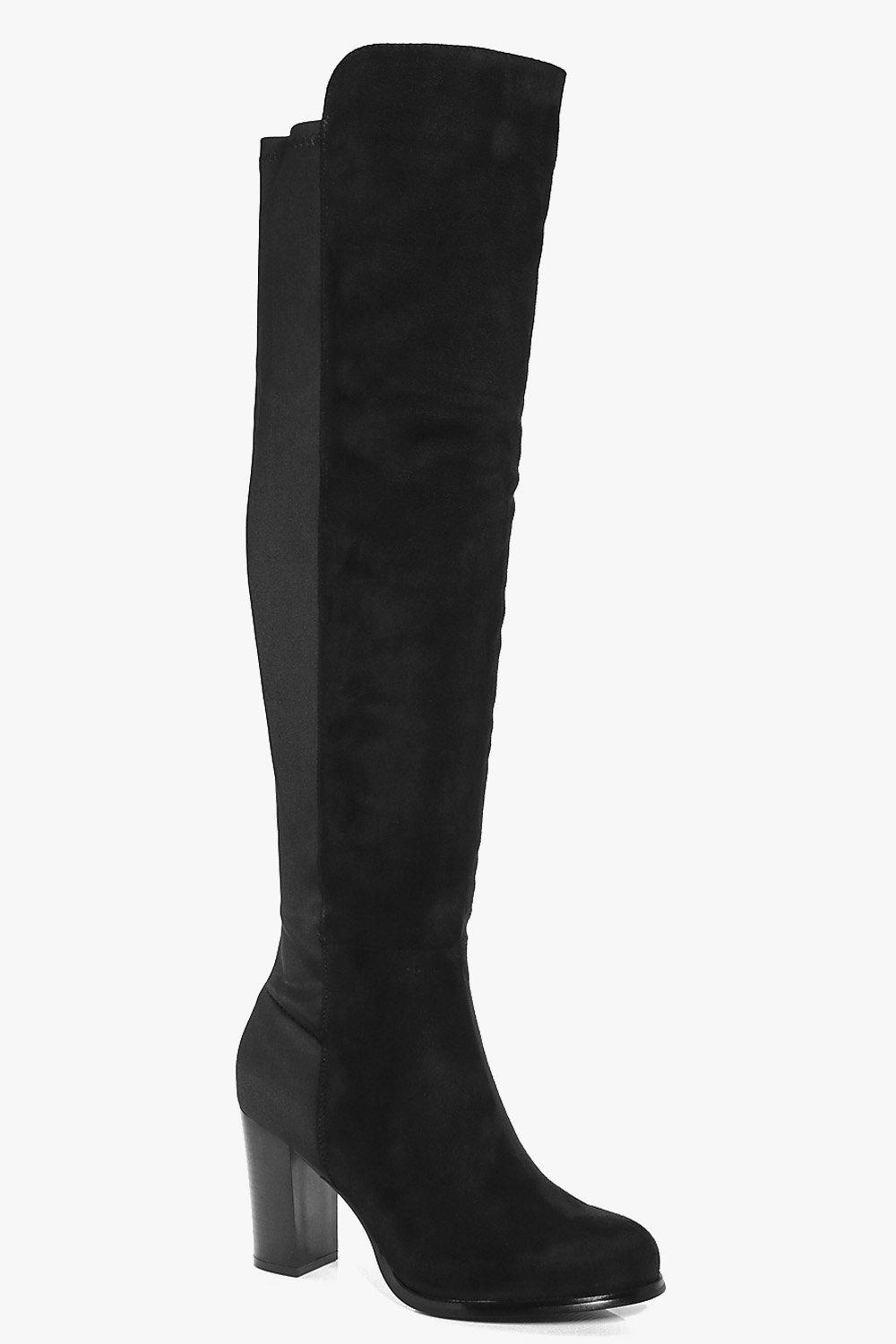 Robyn Block Heel Knee Boot