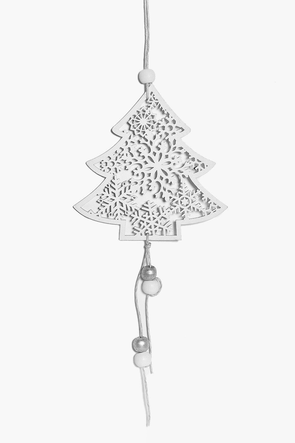 Filigree Christmas Tree Decoration