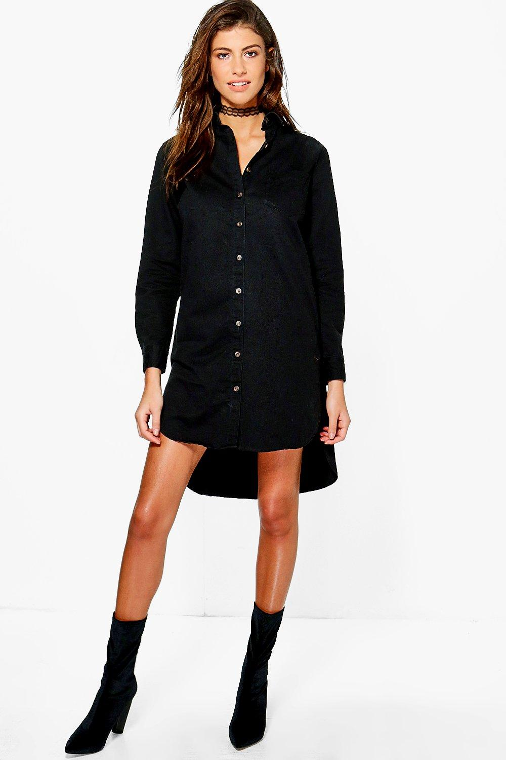 Kelly Denim Utility Dress