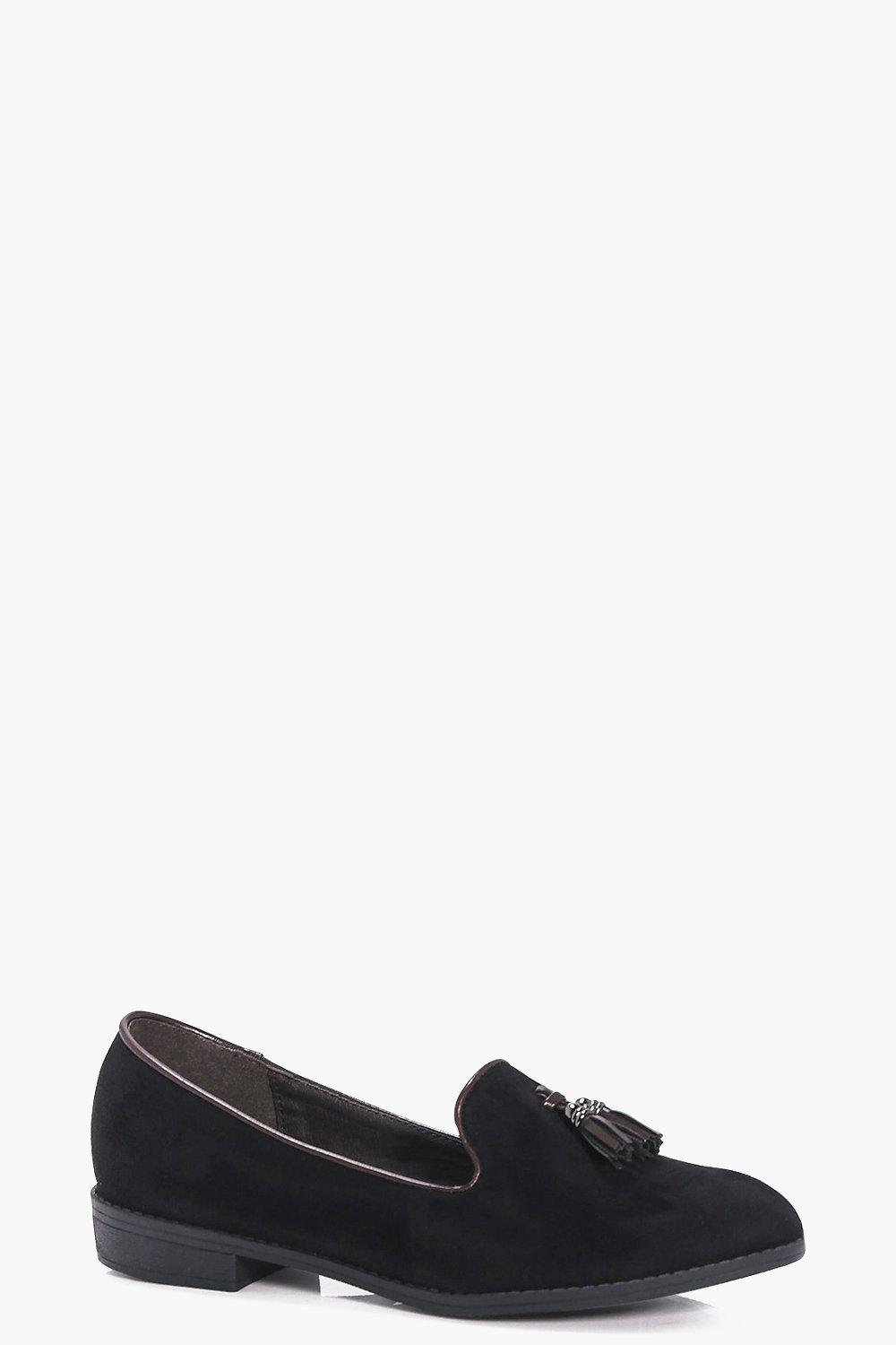 Lauren Tassel Trim Slipper