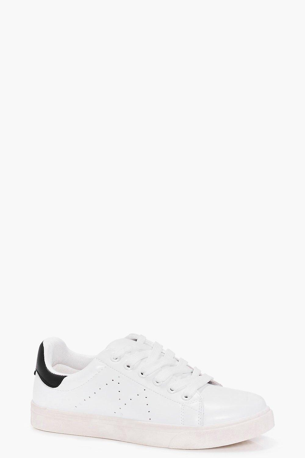 Tilly Colour Back Lace Up Trainer