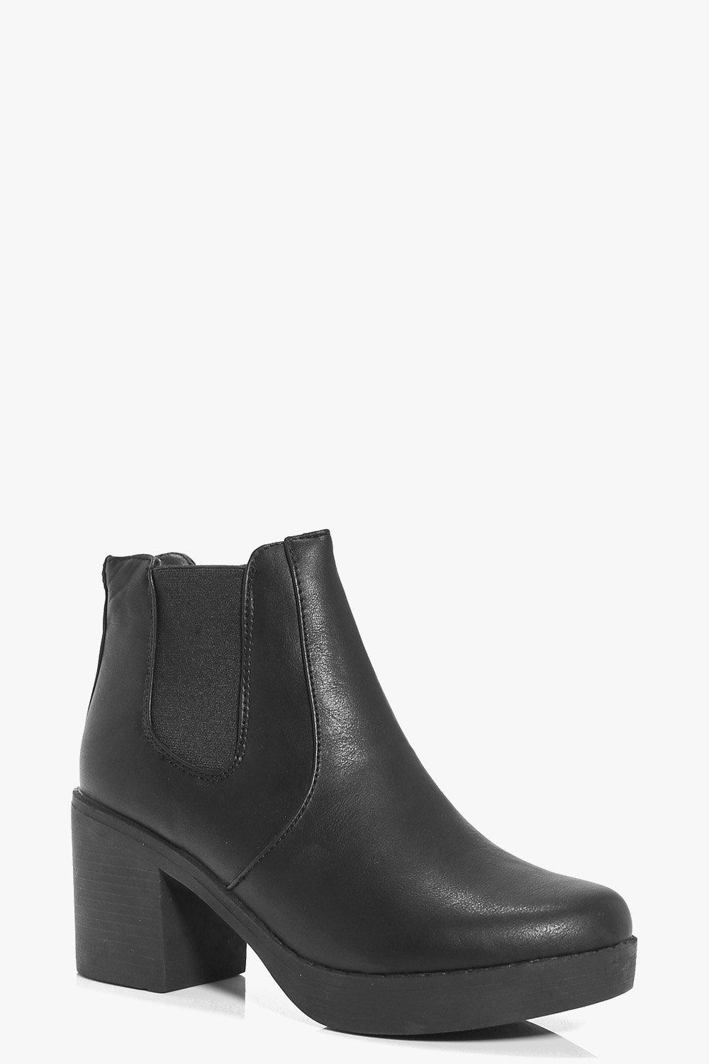 Lydia Chunky Sole Chelsea Boot