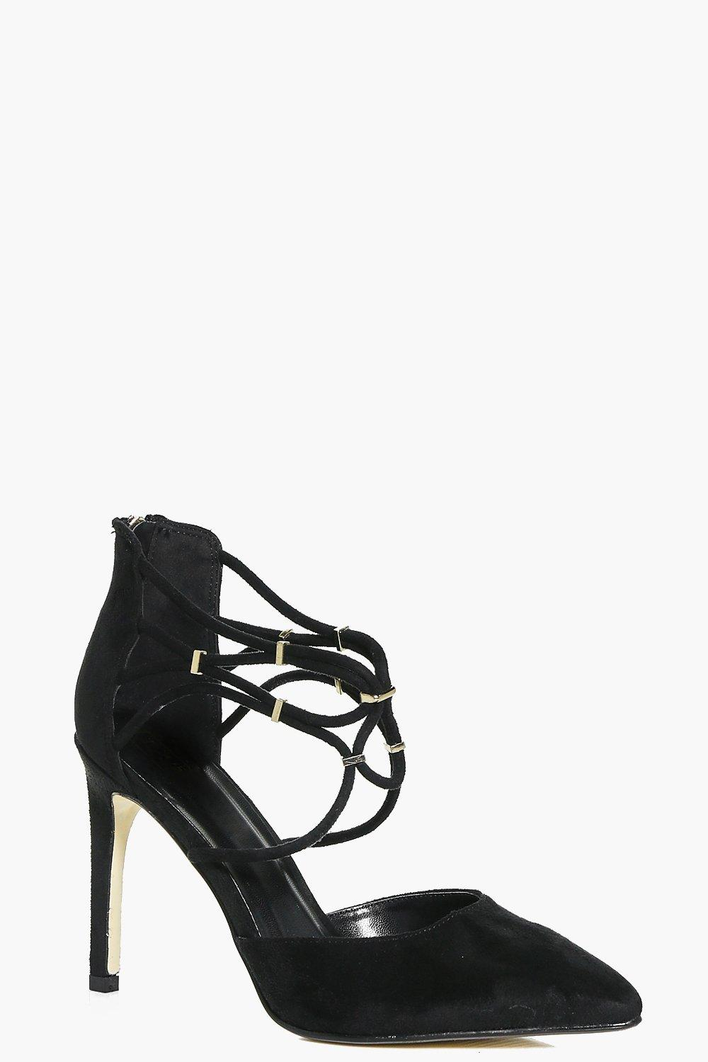 Iris Lace Up Pointed Court