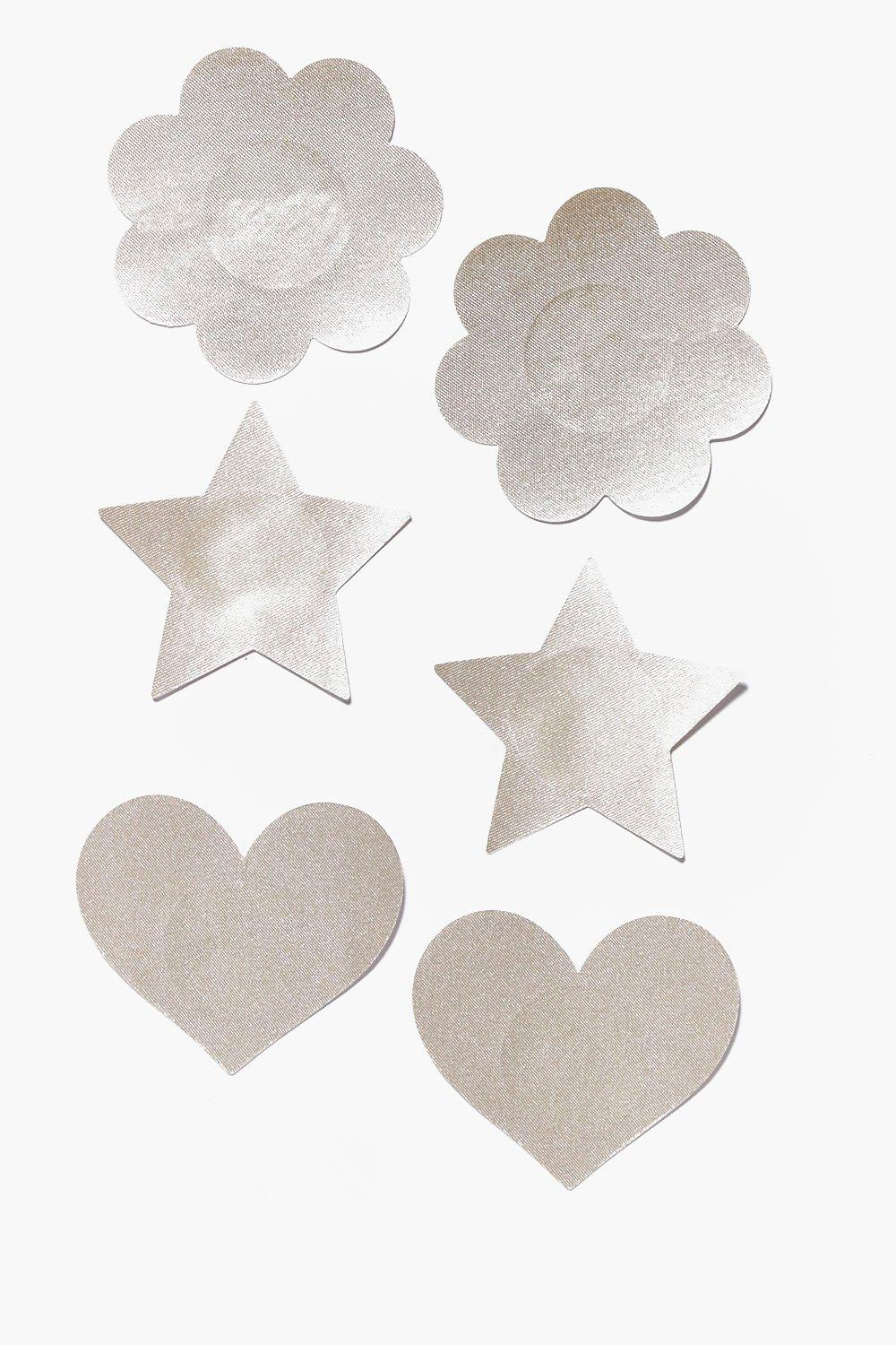 Star, Heart, Flower Nipple Daisies 3 Pack