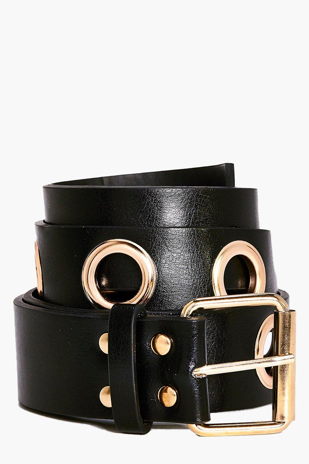 Louise Eyelet Boyfriend Belt