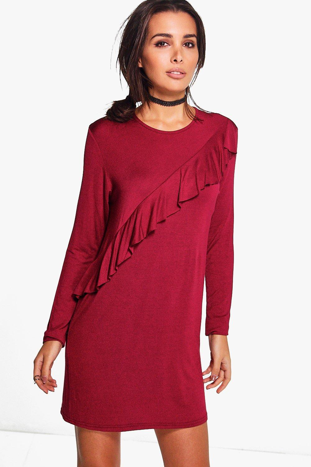 Christine Frill Long Sleeve Shift Dress