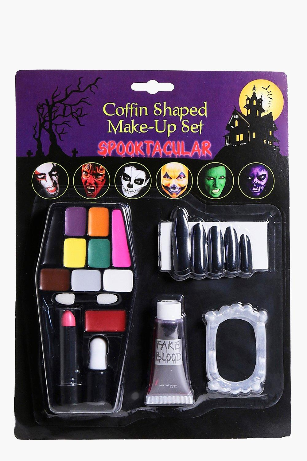 Halloween Coffin Make Up Set