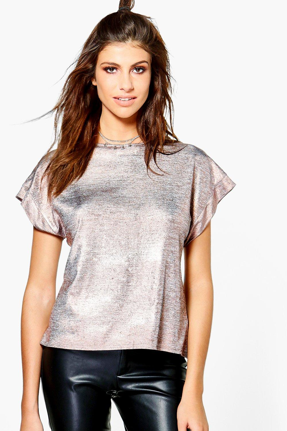 Xenia Metallic T-Shirt