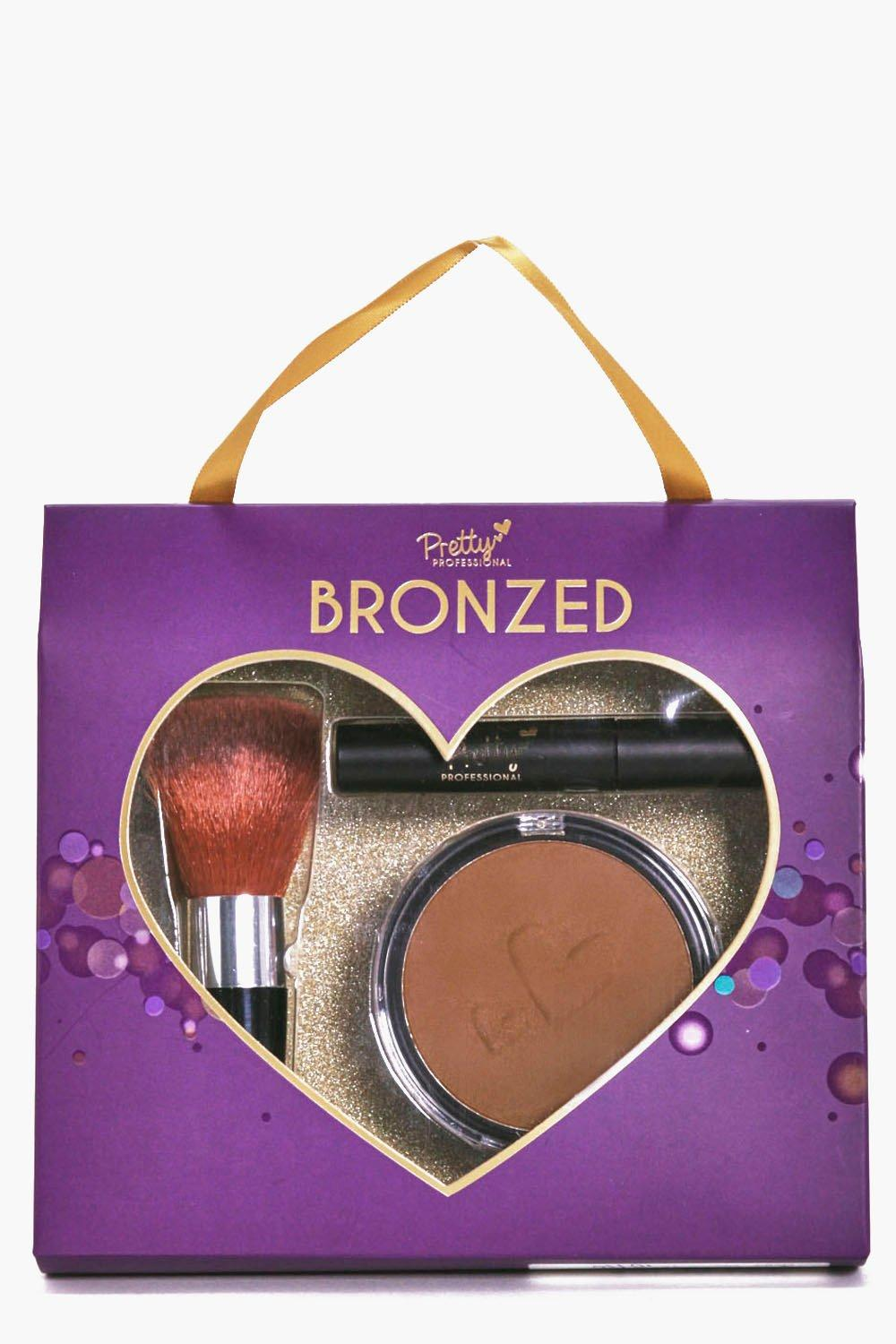 Bronzer, Brush and Mascara Gift Set