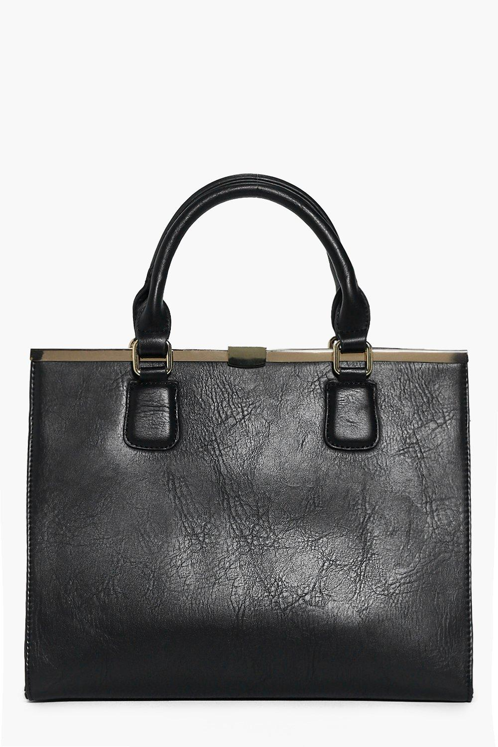 Olivia Metal Snap Top Day Bag