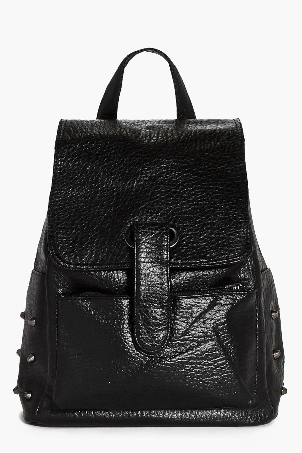 Evelyn Stud Detail Structured Rucksack