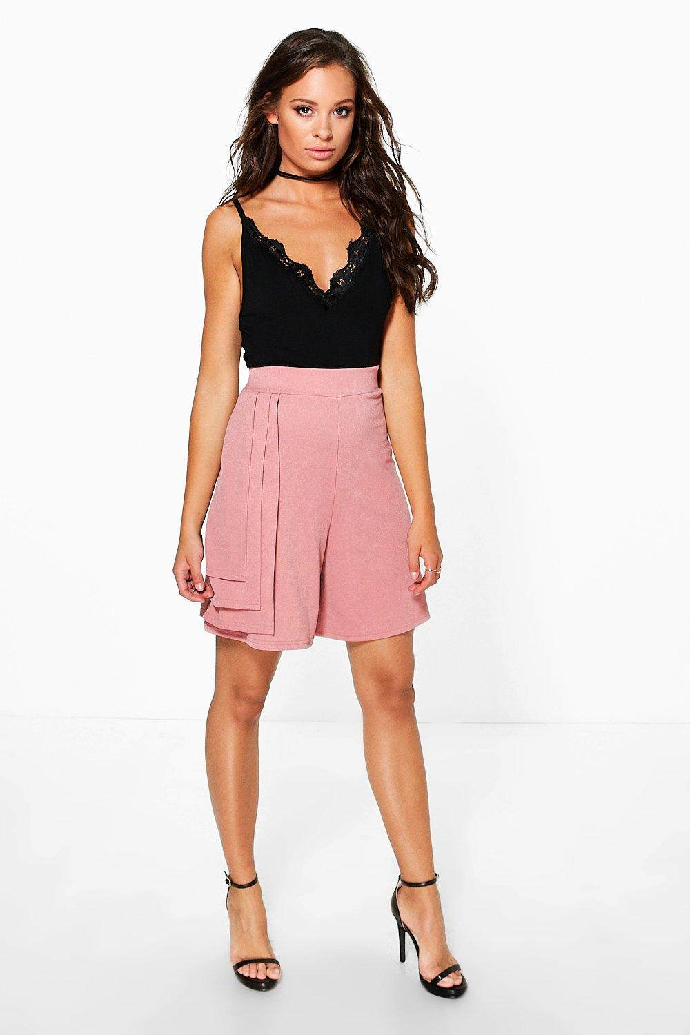 Zoe Longer Length Triple Tiered Shorts
