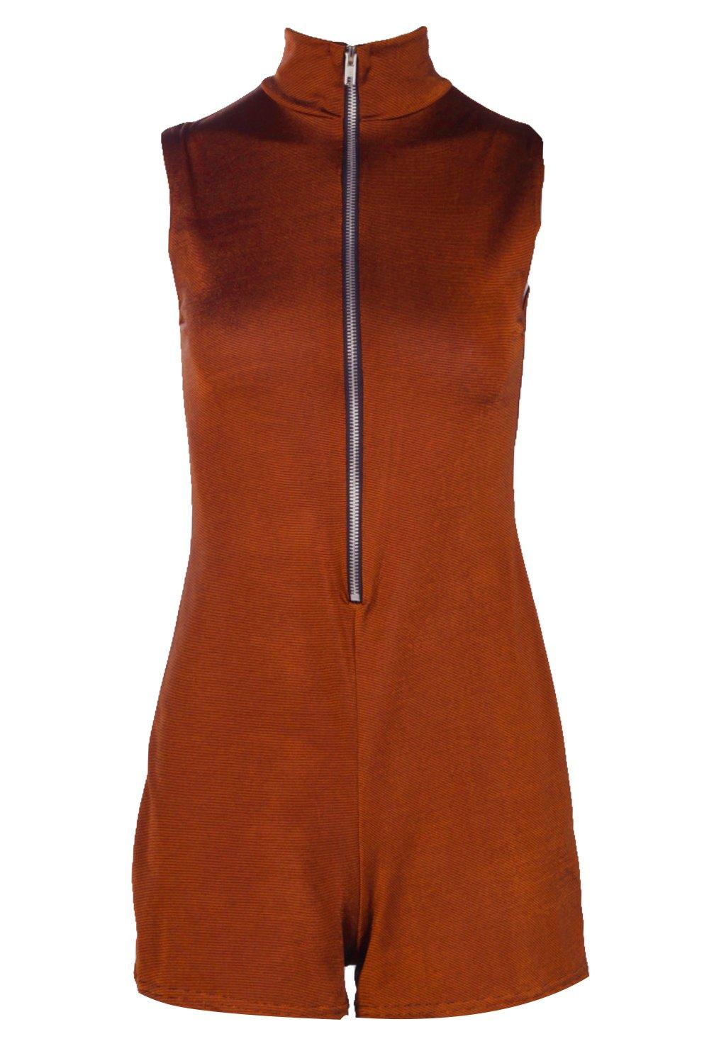 Jenny High Neck Playsuit