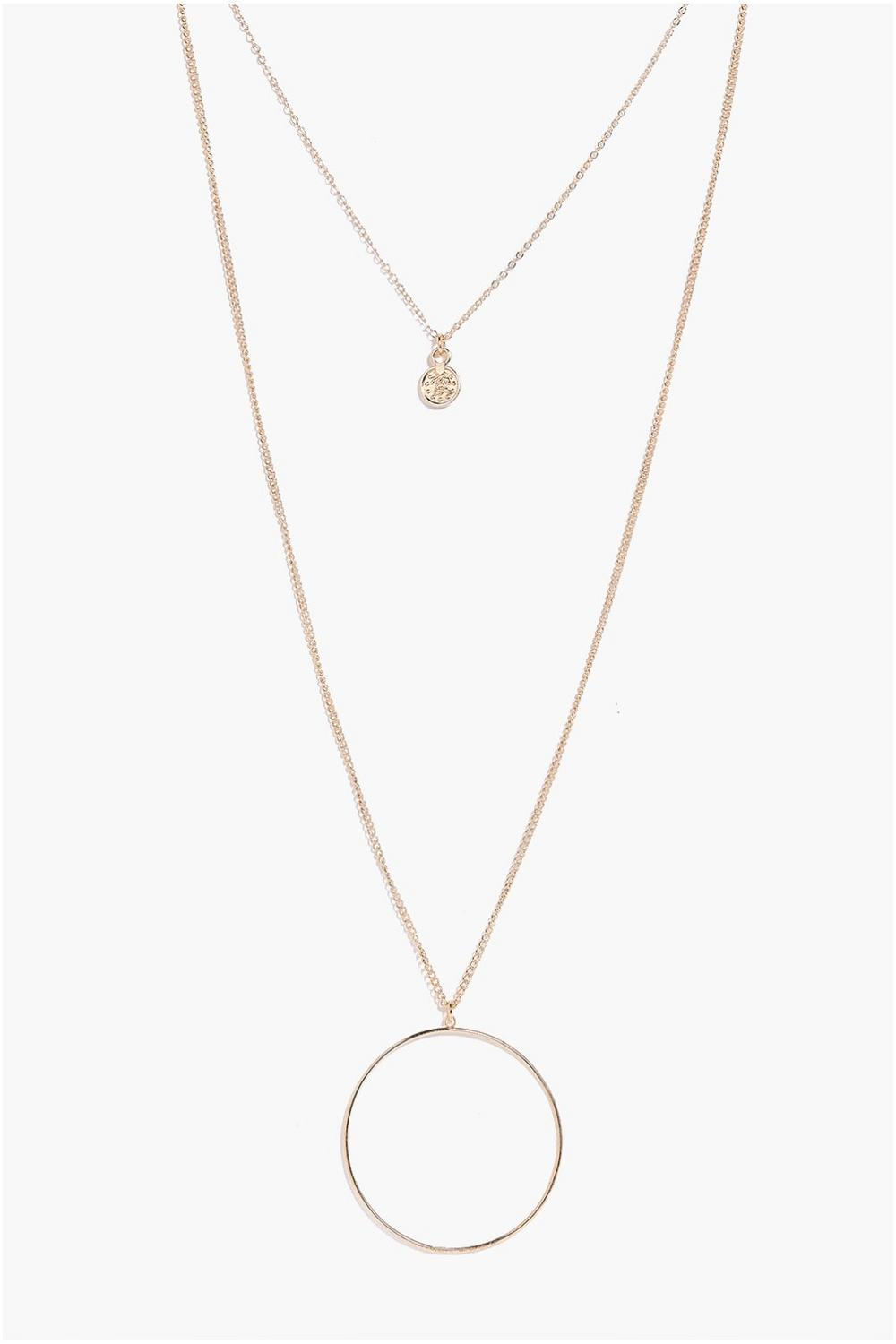 Alexis Coin Layered Necklace