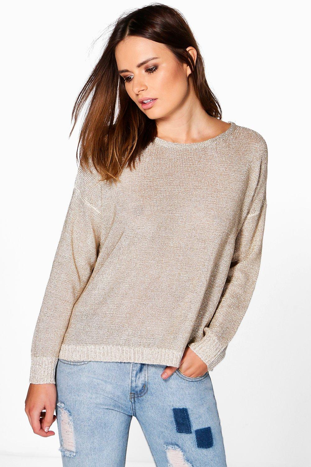 Phoebe Metallic Jumper